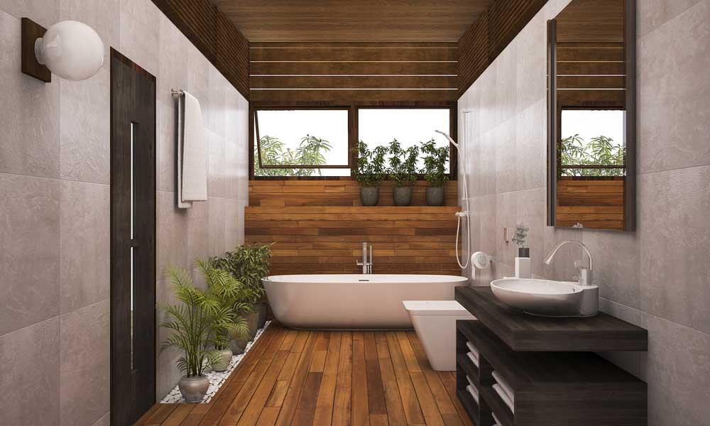 parquet pour salle de bain
